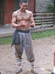 """Osric Chau from """"Supernatural"""" looking pretty hunky here!"""