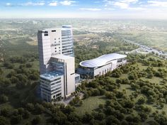 Orris Infrastructure is one of the best real estate developers in Gurugram. With over 1000 acre of land bank in Delhi NCR, the group holds a leading position. Commercial Office Space, Real Estate Development, News India, State Art, Aerial View, Towers, Art And Architecture, Acre, Building