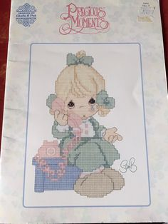 Precious Moments TELL IT Cross Stitch Charted by dianeh5091