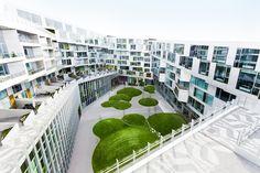 BIG's 8 Tallet mixed use project in Copenhagen.