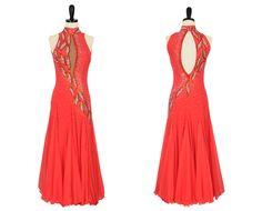 Fiesta Fire | Smooth & Standard Dresses | Encore Ballroom Couture