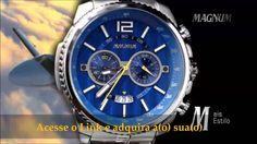 Lançamentos - Relógio Magnum!