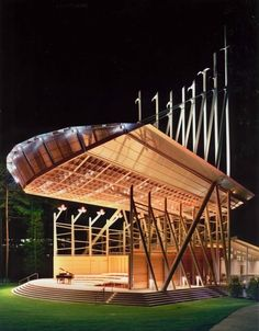 Koka Booth Amphitheater, Cary, NC. Designed by Epstein Joslin Architects, Inc.