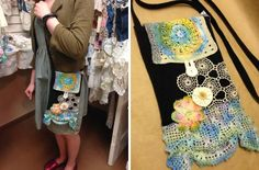 Since we're shining the light on Deborah Stone-Richard of Revamp this week, she has graciously offered up this cute cross-body bag for our art goody giveaway. Visit our blog to enter. Ends Sunday, June 8, 2014!