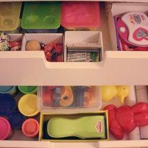 Stauraum im Kinderzimmer