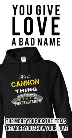 Are you a Cannon? If so, you need this shirt!