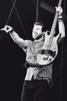 Jeremy Davis from Paramore as a muse for Ben.