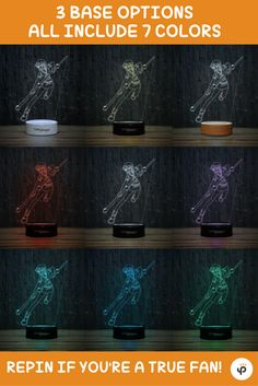 Nami 3D-120 LED Illusion Lamp