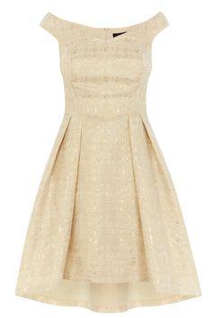 KATIYA JACQUARD DRESS