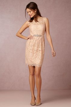 BHLDN Harlow Dress in  Bridal Party Bridesmaid Dresses Lace | BHLDN