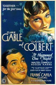 It Happened One Night. 1934