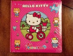 New Hello Kitty Puzzle Book Set of 5 Puzzles My First Puzzle Book Factory SEALED | eBay