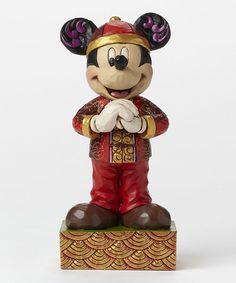 Look what I found on #zulily! Disney China Mickey Figurine #zulilyfinds