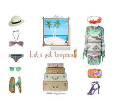 Essentials for a tropical vacation