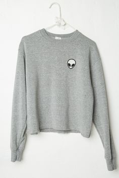 Brandy ♥ Melville | Acacia Alien Patch Sweatshirt