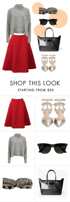 Check out the New Year's Look by hielevencom on Polyvore featuring Hieleven, Designers Remix, Lanvin, Valentino, Billabong and Ray-Ban