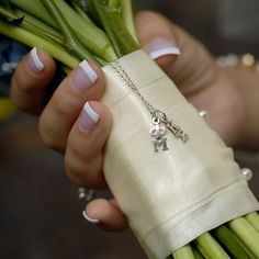 Greek weddings: Put your greek letters on the bouqet