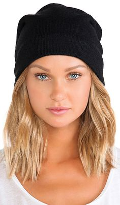 Shop for Plush Fleece Lined Barca Slouchy Hat in Black at REVOLVE. Slouchy Hat, Beanie, Warm In The Winter, Keep Warm, Head Wraps, Plush, Style Inspiration, Chic, Hats