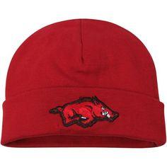 big sale cf252 58327 Arkansas Razorbacks Top of the World Infant Team Logo Cuffed Knit Hat -  Cardinal