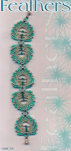 Santafe's Site  Jaycee feather bracelet