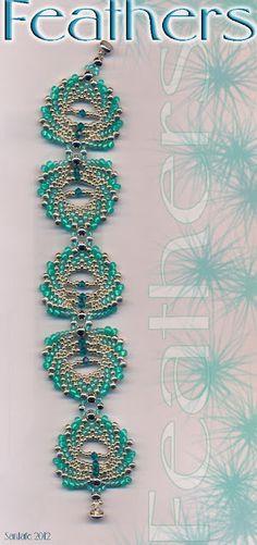 Feathers bracelet