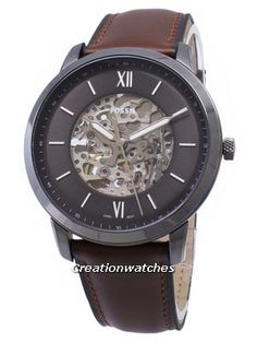 a8e8bc09dda7 Fossil Neutra ME3161 Automatic Analog Mens Watch