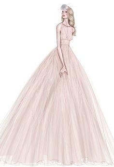 Brides: Fall 2013 Wedding Dress Sneak Peek: Watters