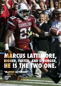 Marcus! South Carolina Gamecocks