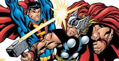 Superman and Thor