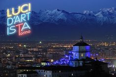 Luci d'artista, Turin, Italy https://www.facebook.com/pages/LUCI-DARTISTA-Torino/161202722684  #website #festival #turin