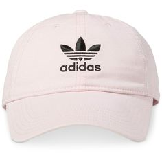 78daa1f363e adidas Originals Cotton Relaxed Cap (175 GTQ) ❤ liked on Polyvore featuring  accessories