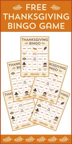 http://catchmyparty.com/blog/free-printable-thanksgiving-bingo-cards