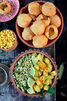 Indian Food | Sublime Spheres: Pani Puri - Golgappa - Puchka