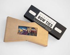 Humphrey Bow Ties package design by Krisna MacDonald.