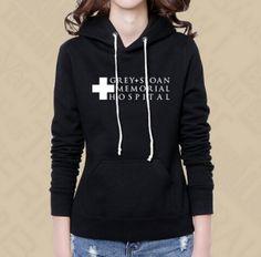 Grey's Anatomy fleece hoodie for women seattle grace hospital sweatshirt Greys Anatomy Shirts, Greys Anatomy Season, Grays Anatomy, Grey's Anatomy Merchandise, Grey's Anatomy Clothes, Movies And Series, Fleece Lined Hoodie, Hooded Sweatshirts, Hoodies