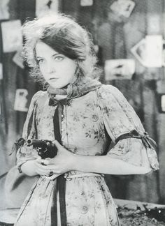 "Lillian Gish in ""The Wind"" (1928)"