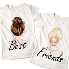 Source by masteram Outfits spirit week Best Friends T Shirt, Best Friend Matching Shirts, Friends Sweatshirt, Bff Shirts, Best Friend Outfits, Cute Shirts, Best Friend Clothes, Friends Shirts, Twin Outfits