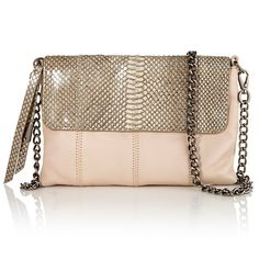 Foley + Corinna Nimble Leather Crossbody Bag at HSN.com