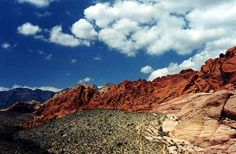 Red Rock Canyon, Western Nevada
