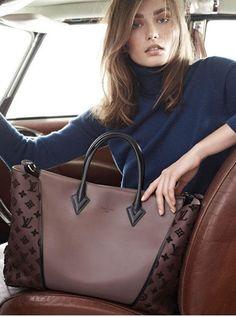 Let's go... with Louis Vuitton new W handbag.