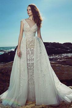 e3e90c45b 40 vestidos de novia para mujeres con mucho pecho  ¡lucirás fantástica!