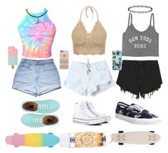 Skating on Rodeo by cerenitydai on Polyvore featuring polyvore, fashion, style, Billabong, Nana Judy, Vans, Converse, Dorothy Perkins, Forever 21, ASOS, Casetify, skater and cali
