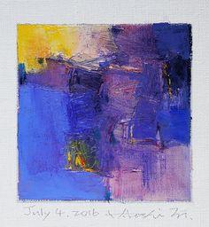https://flic.kr/p/HQLSRD   july042016   Oil on canvas  9 cm x 9 cm  © 2016 Hiroshi Matsumoto www.hiroshimatsumoto.com