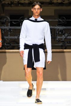 Les Hommes Spring 2013 Menswear Collection Slideshow on Style.com