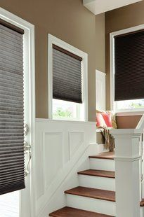 You don't always have to go beige with cellular shades!