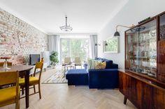 Styl retro i nowoczesny minimalizm - PLN Design Google Design, Living Room Inspiration, Home Interior, Midcentury Modern, Sweet Home, Dining Room, Retro, Kitchen, Furniture