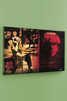 Gail Rodgers Andy Warhol II, One-Of-A-Kind Mixed Media - Beyond the Rack