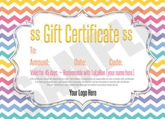 LuLaRoe Surprise Certificate Design Compliant by DesignasaurStore ...