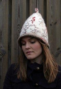 Björg - embroidered hat