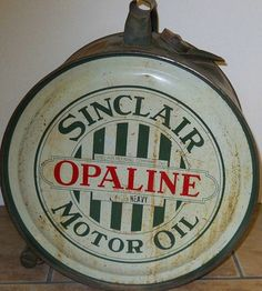 RARE Vintage Sinclair Rocker Oil Can 1920s Very by BalboaRarities, $475.00